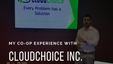 Co-op Experience With CloudChoice Inc.