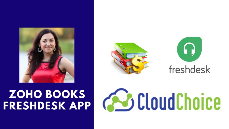 Zoho Books for FreshDesk, Our New Application on FreshDesk MarketPlace.